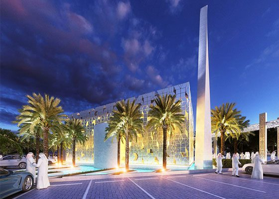 Archidentity reveals design concept for Dubai mosque