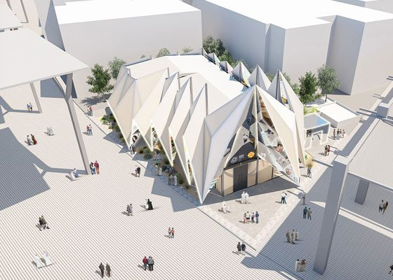 Construction Week – Emirati-designed Expo 2020 Dubai's Expo Live Pavilion revealed